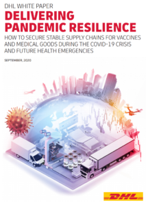 "The DHL Report ""Delivering Pandemic Resilience"""