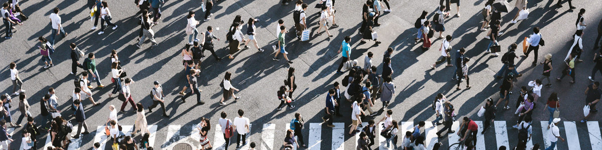 Peopleon a crossing Photo byRyoji IwataonUnsplash